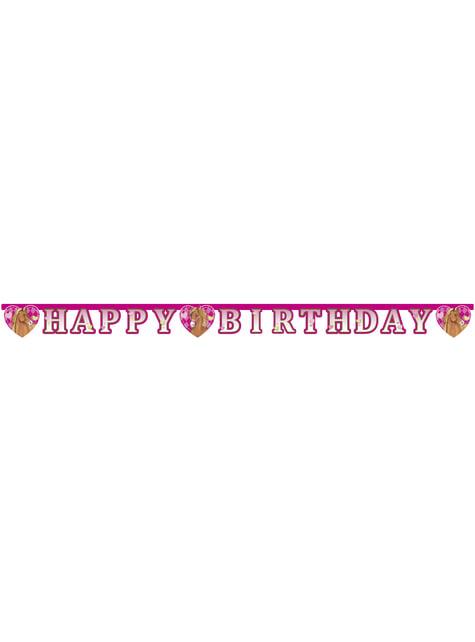 'З днем народження' Коні гірлянди