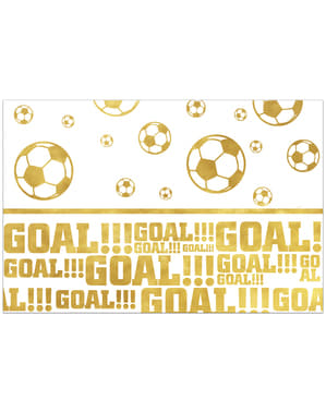 Toalha de Mesa Football Gold