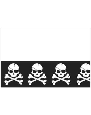 Pirat Svart bordduk