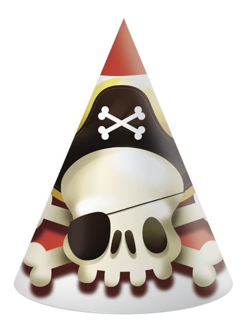 6 Powerful Pirates little hats