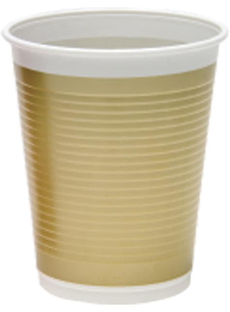 8 vasos Gold