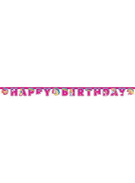 Barbie Dreamtopia verjaardag slinger