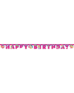 Barbie Dreamtopia birthday garland