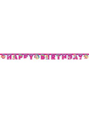 Grinalda aniversário de Barbie Dreamtropia
