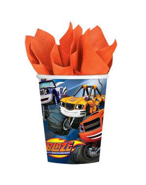 8 copos de Blaze