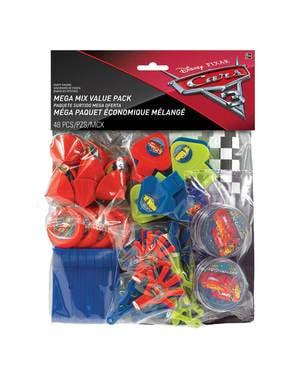 Mega set de 48 juguetitos de Cars