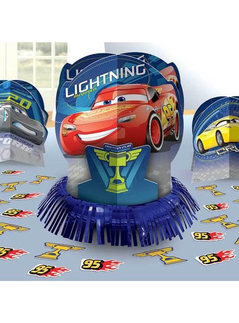 Set de decoración de mesa de Cars