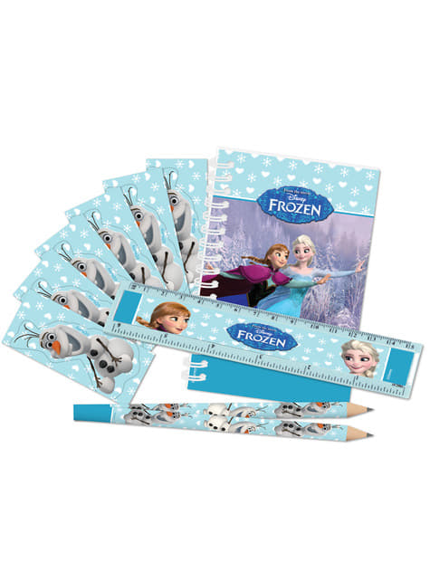 Pack de papelería de Frozen