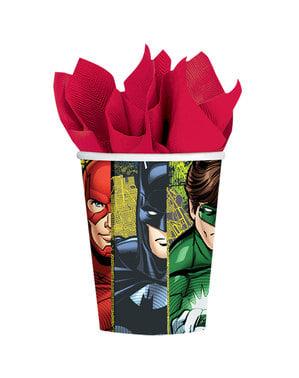 8 copos de A Liga da Justiça