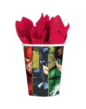 8 The Justice League cups