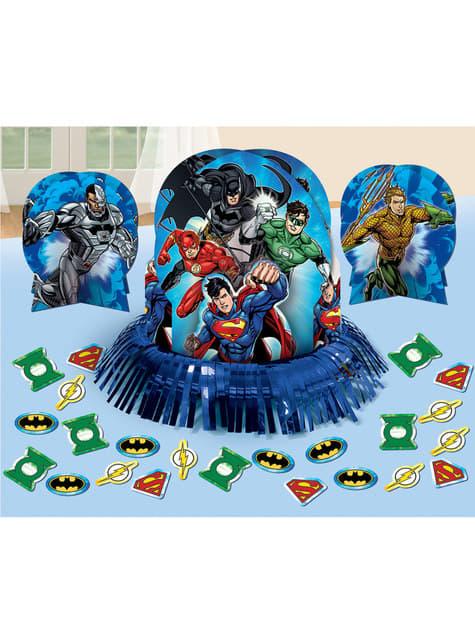 The Justice League table decoration set