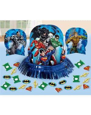 The Justice League bord dekorasjonssett