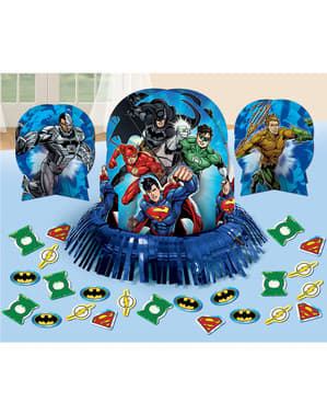 The Justice League tafel decoratie set