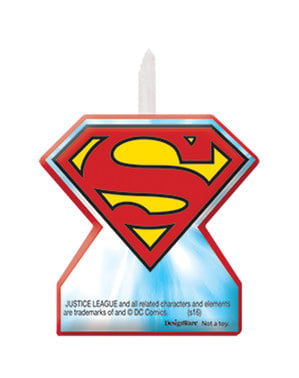 4 kpl The Justice League kynttilöitä