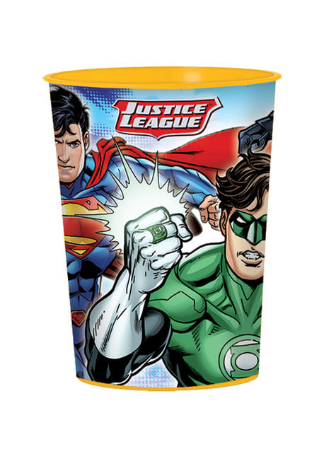 Hard plastic The Justice League cup