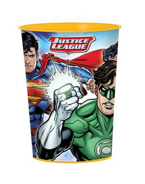 Vaso de plástico duro de La Liga de la Justicia