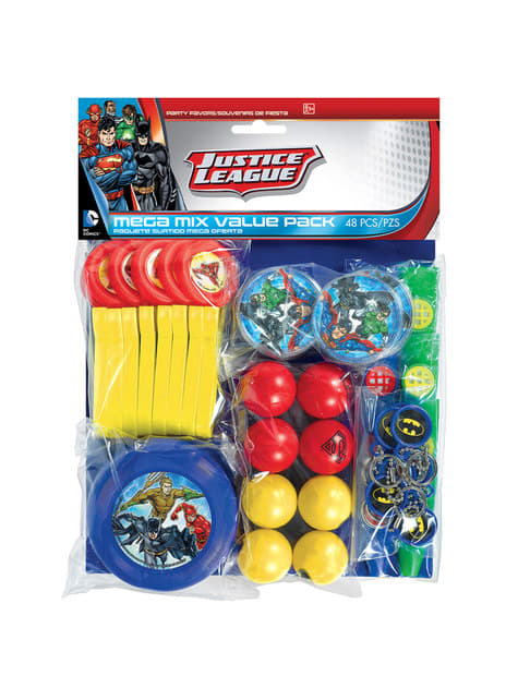 Méga kit  48 jouets Justice League