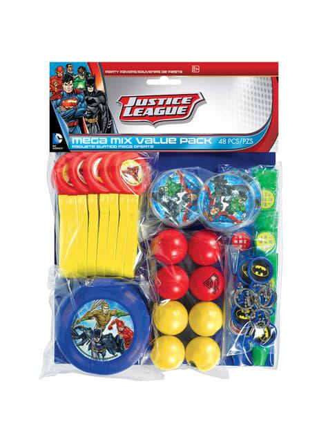 Mega set de 48 juguetitos de La Liga de la Justicia