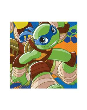 20 servilletas de Las Tortugas Ninja Half-Shell Heroes