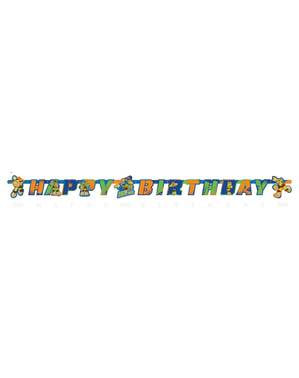 Grinalda aniversário de As Tartarugas Ninja Half-Shell Heroes