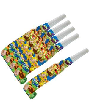 8 Teenage Mutant Ninja Turtles Half-Shell Heroes party blowers