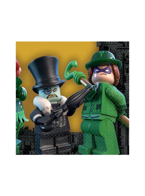 16 The Lego Batman Movie napkings (33x33 cm)