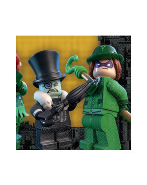 16 The Lego Batman Movie servetten (33x33 cm)