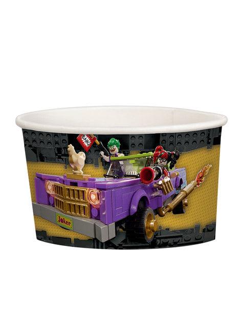 8 vasitos de helado de Batman La Lego Película