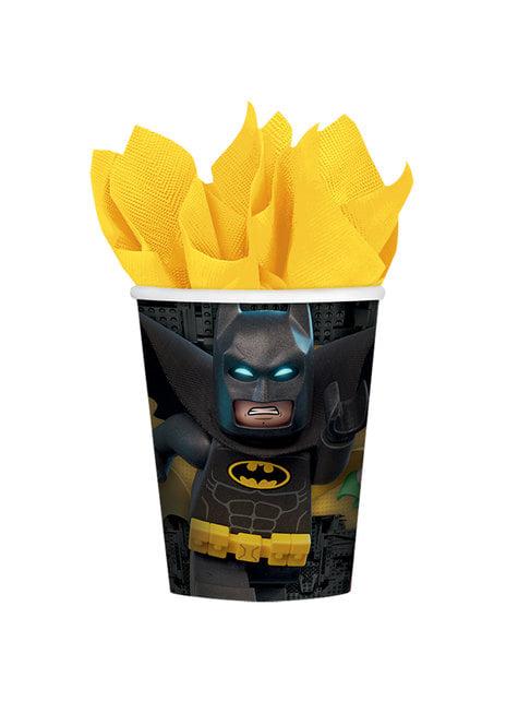 Zestaw 8 kubków Batman Lego Film