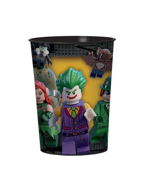 Vaso de plástico duro de Batman La Lego Película