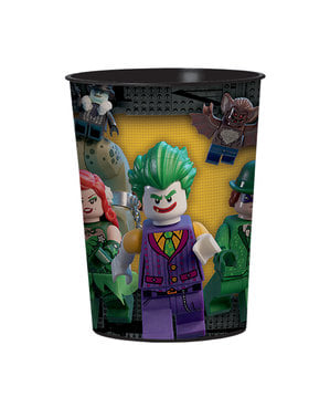 Pahar din plastic dur Batman La Lego Movie