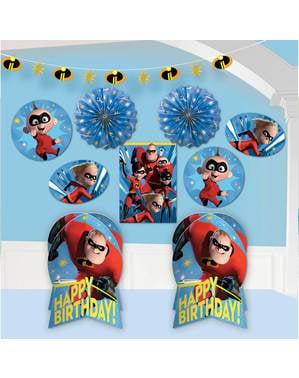 Kit de decoração para quarto de The Incredibles: Os Super-Heróis 2