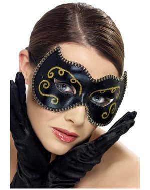 Elegancka Maska wenecka na Karnawał
