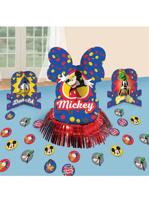 Conjunto de decoração de Mickey Mouse