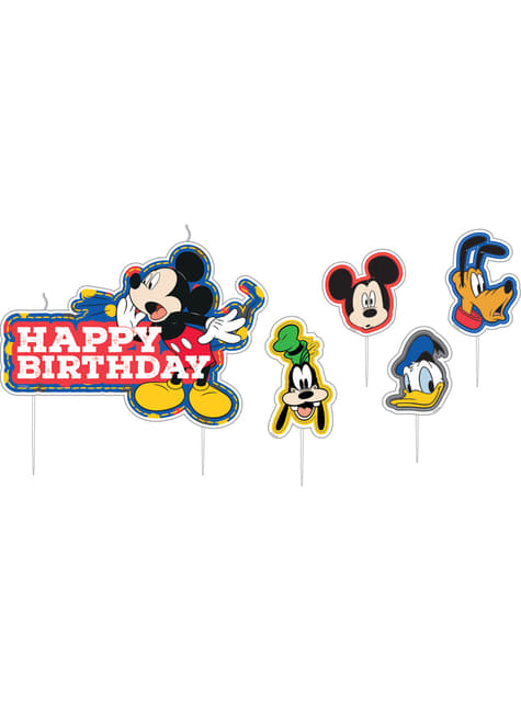 17 Mickey Mouse birthday candles