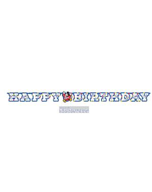 Guirnalda cumpleaños de Mickey Mouse