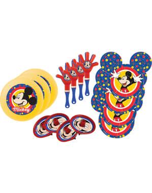 Sæt af 24 Mickey Mouse legetøj