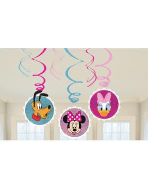 Set med 6 hängande dekorationer Minnie