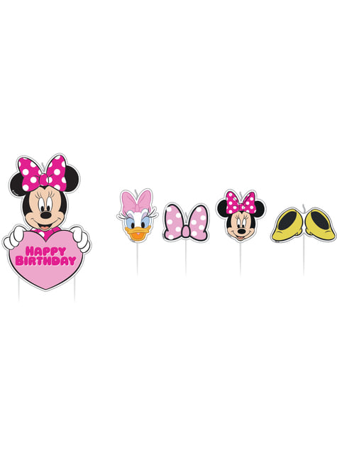 17 Minnie Mouse birthday candles