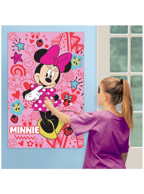 Juego para fiesta infantil de Minnie Mouse