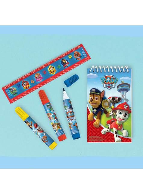 Pack de papelería de Patrulla Canina