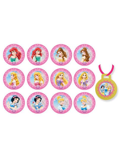 Set de 8 baloane cu băț Prințese Disney