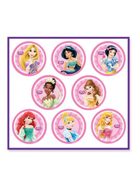 8 globos con varitas de Princesas Disney - comprar