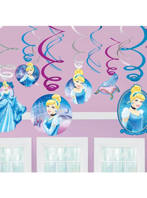 12 adornos colgantes de Cenicienta