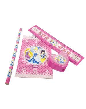 Conjunto escolar de Princesas Disney