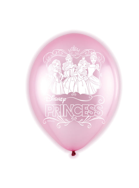 5 palloncini di lattice LED di Principesse (28 cm)