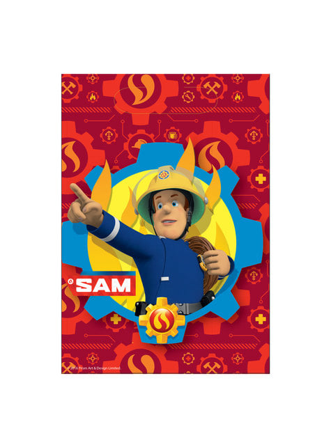 8 bolsas de Sam El Bombero