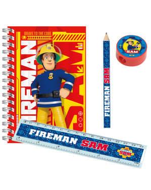 Feuerwehrmann Sam Schul Set