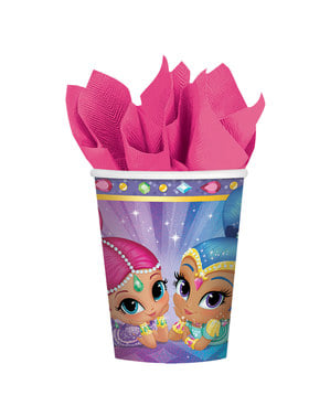 8 Shimmer and Shine bekers