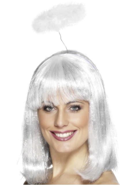 Aureola de ángel blanca